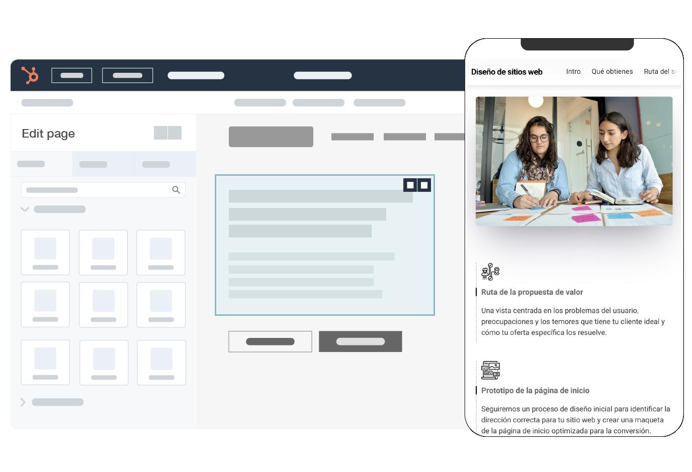 Servicio de diseño y desarrollo de Sitios Web